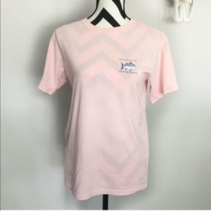 Southern Tide✨baby pink cotton t shirt